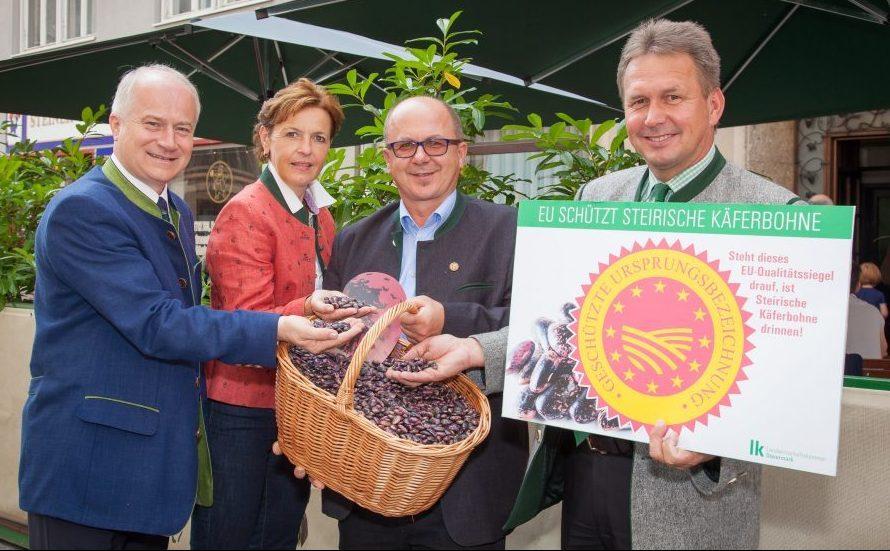 Steirische Käferbohne erhält den Europäischen Herkunftsschutz